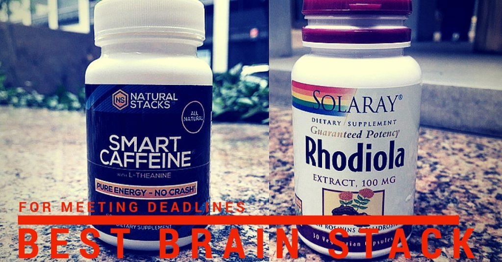 Best Brain Stack for Deadlines