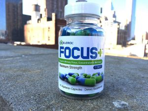 Review of the brain supplement Excelerol Focus Plus by