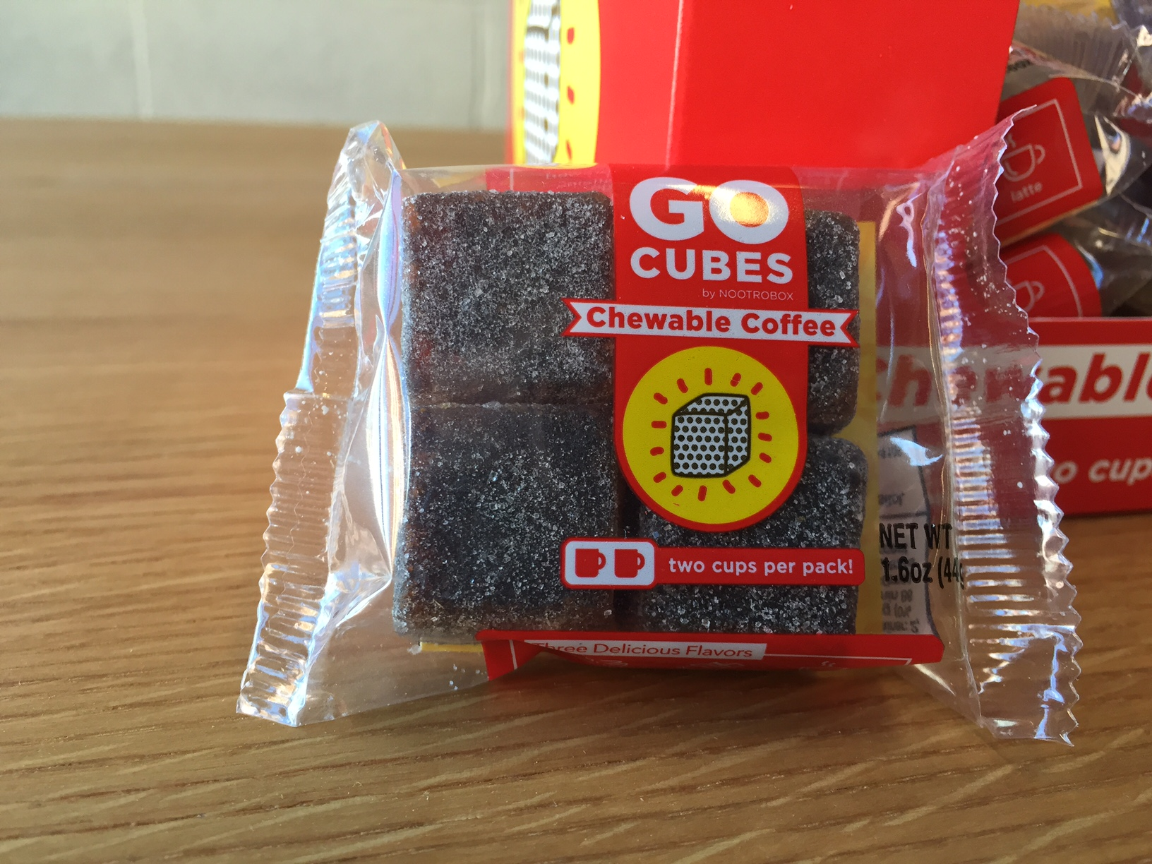 Brain Wiz Go Cubes Review Is Chewable Coffee Better Your Brain