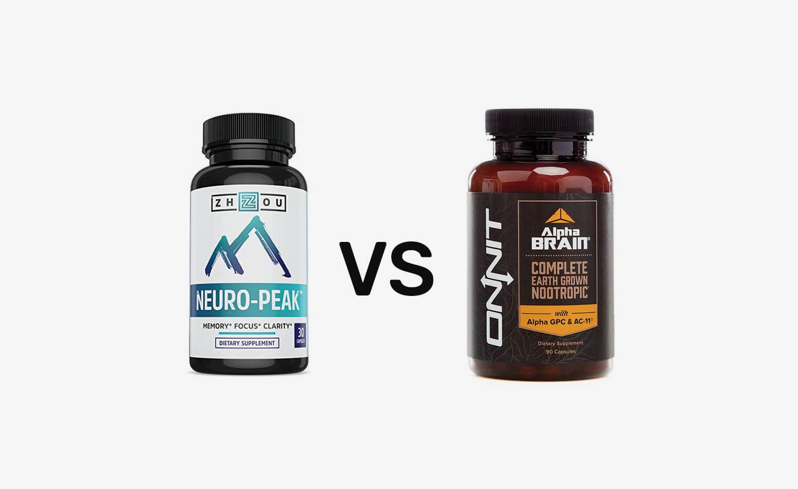 Neuro Peak vs Alpha Brain: An Unbiased Look At Both